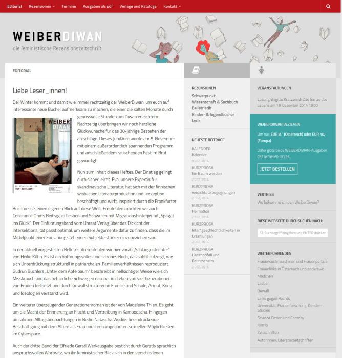 Wordpress Online Zeitschrift