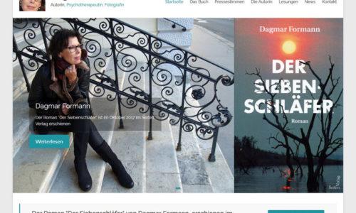WordPress Homepage Dagmar Formann Autorin