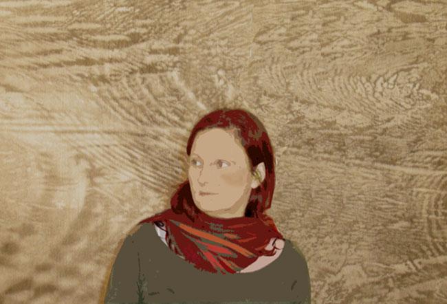 Webseite für die Künstlerin Ingrid Luschin, www.luschin.info