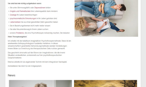 webdesign wien psychotherapeutin