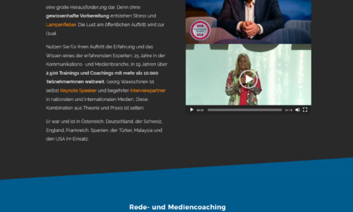 website design georg wawschinek