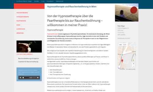 wordpress homepage therapeut