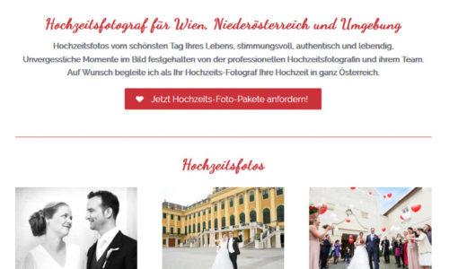 WordPress Website Fotografin